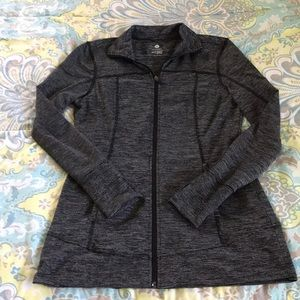 Old Navy fitted active zip up lightweight jacket